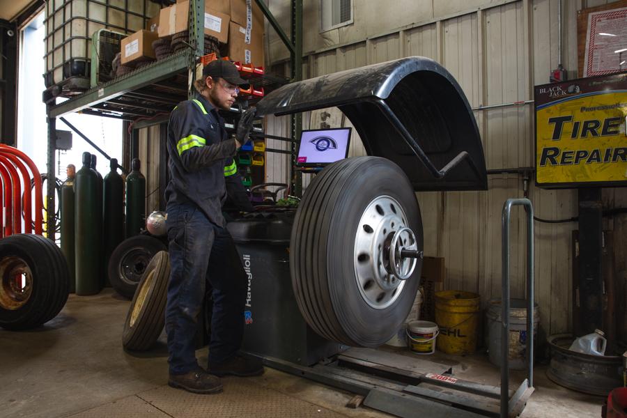 Computerized Tire Balancing